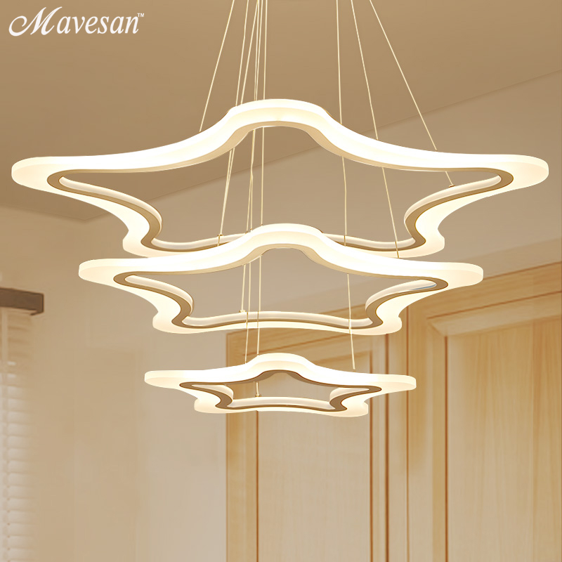 Creative modern LED pendant lights Kitchen Acrylic+Metal suspension hanging ceiling lamp for dinning room lamparas colgantes