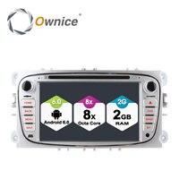 Ownice C500 Android 6.0 Octa 8 Lõi Car DVD Player Cho FORD Mondeo S-MAX Connect FOCUS 2 2008-2011 Với Đài Phát Thanh GPS 4 Gam LTE Mạng