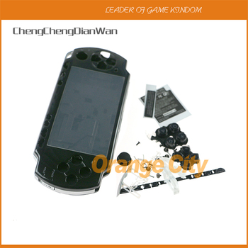 Colors for PSP2000 PSP 2000 Game Console replacement full housing shell cover case with buttons kit 10setslot