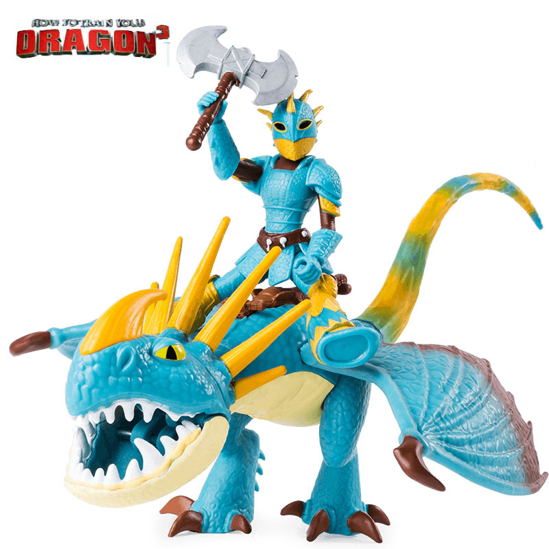 Genuine How to Train Your Dragon 3 2019 Hiccup & toothless/light fury astrid & stormfly Snotout &Hookfang Grimmel Children toy figure class ultra instinct goku