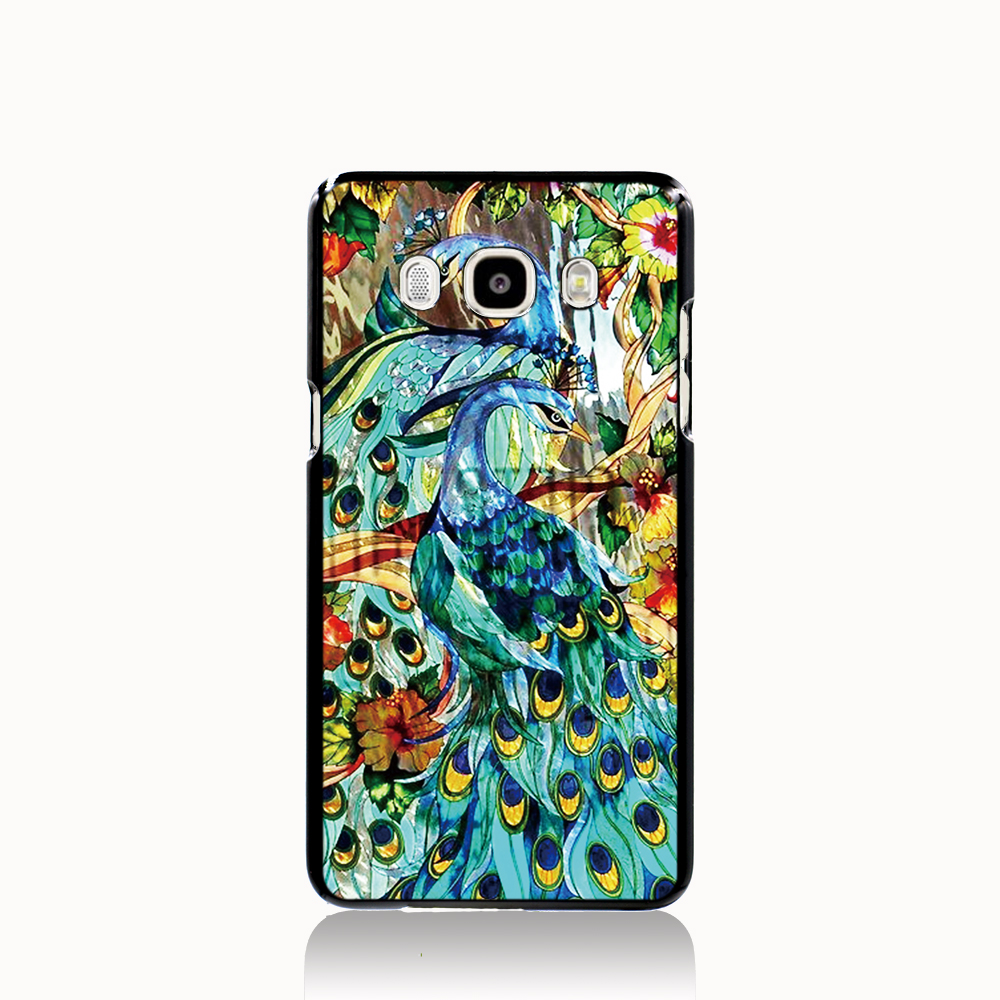 Pu leather case for samsung galaxy a7 2016 a710 peacock feather - 12600 Beautiful Peacock Stained Glass Cell Phone Case Cover For Samsung Galaxy J1 Mini J2 J3 J7 On5 On7 J120f 2016