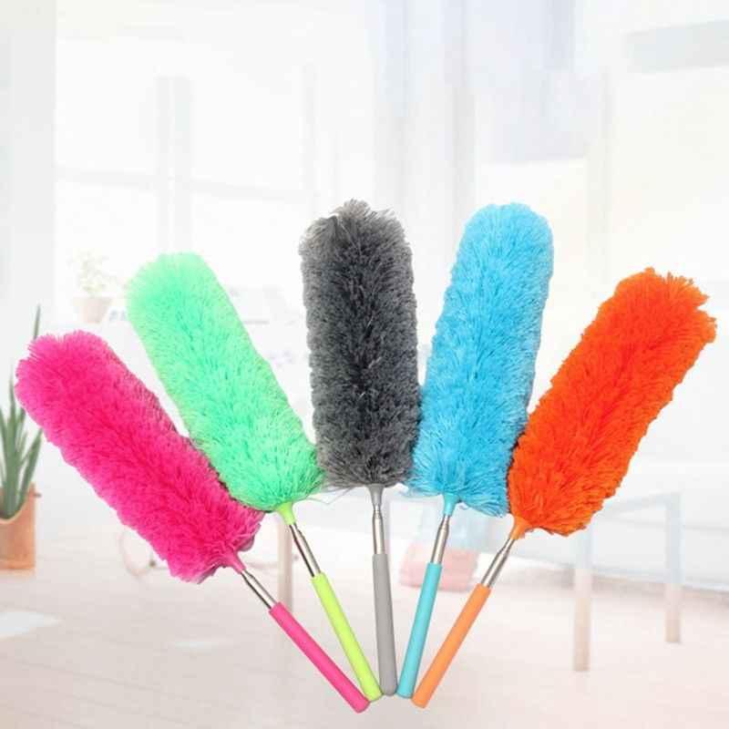 Offre spéciale doux microfibre Duster brosse poussière nettoyant ne peut pas perdre les cheveux statique Anti-poussière brosse maison Air conditionné voiture meubles