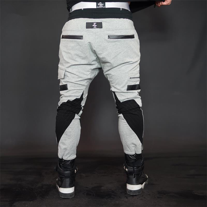 2019 fashon Fitness Long Pants Men Casual Sweatpants Baggy Jogger Trousers Fashion Fitted Bottoms streetwear hiphop