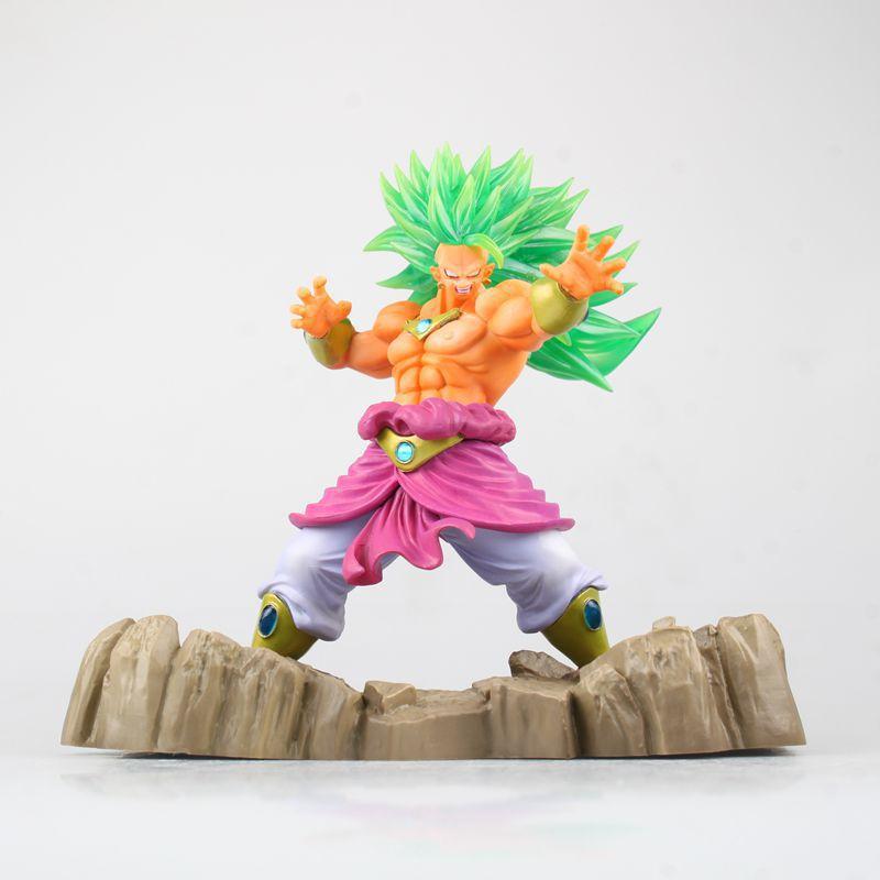Newest Anime Dragon Ball figures Tenkaichi Budokai Super saiyan Broly 17cm PVC Dragon ball Action Figure Collectible Model Toys fighting budokai action figure