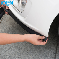 LOEN 2.5M Universal Car Bumper DIY Anti collision Strips Car Styling For Chevrolet Hyundai 0 Bmw Lada Peugeot