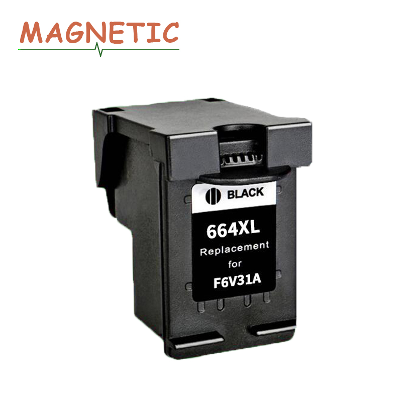 Magnetic Compatible Black <font><b>ink</b></font> Cartridge For HP664 For <font><b>HP</b></font> DeskJet <font><b>1115</b></font> 2135 3635 1118 2138 3636 3638 4536 4676 Printer 664 image