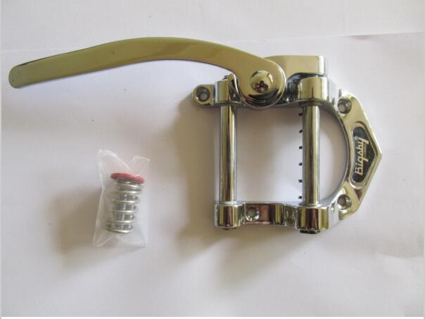 New  Bigsby  musical instrument electric jazz guitar bridge tremolo system tailpiece