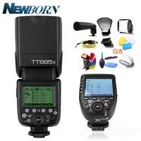 Godox ttl TT685S Камера флэш-памяти 2,4G Беспроводная вспышка для фотокамер Speedlite HSS 1/8000 s GN60 + Xpro-S передатчик Комплект для Sony a77II, a7RII, a7R, a58, a99 и т. д