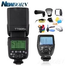 Godox ttl tt685s 카메라 플래시 2.4g 무선 hss 1/8000s gn60 + xpro s 송신기 키트 소니 a77ii, a7rii, a7r, a58, a99 등