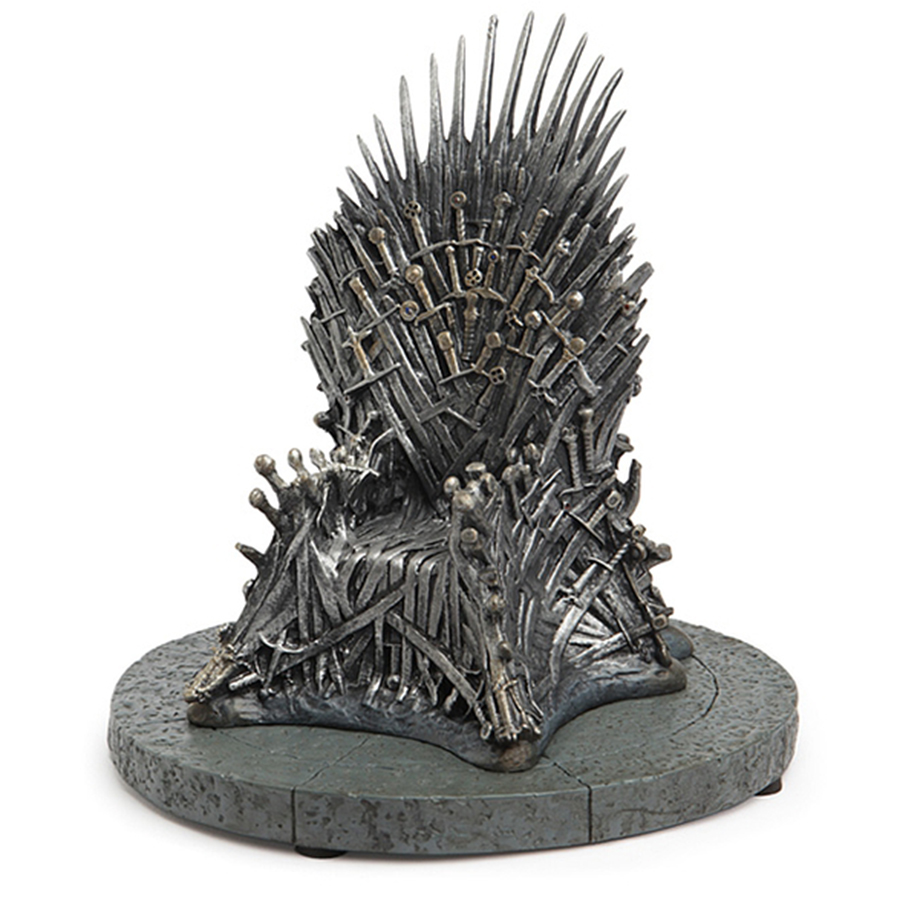OGRM Crafts Game Of Thrones Iron Throne 7 Inch Resin