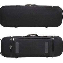 Сильный EVA чехол для скрипки футляр для музикального инструмента черная сумка