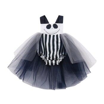 Baby Girls Tutu Romper Chiffon - Halloween