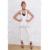 Chegada de novo! 2016 Rompers Mulheres Pista Bandagem Macacão Branco Com Decote Em V profundo Botão de Ouro Festa de Celebridades Bodycon Bodysuit Inverno