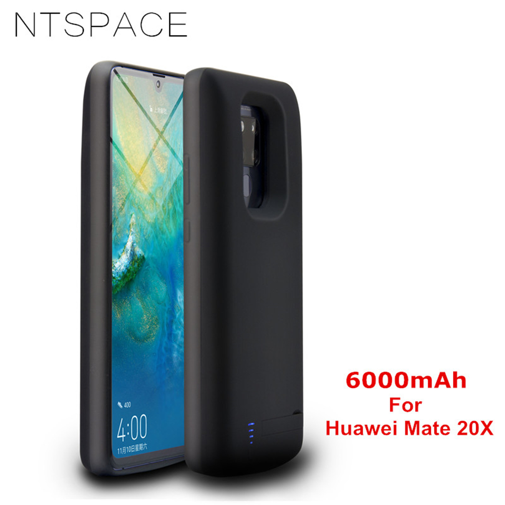 NTSPACE 6000mAh Battery Charger Cases For Huawei Mate 20X Power Case Portable Power Bank Back Clamp Battery Charging CoverNTSPACE 6000mAh Battery Charger Cases For Huawei Mate 20X Power Case Portable Power Bank Back Clamp Battery Charging Cover