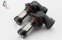 Blanco 9145 H10 Bombillas LED Luces 80 W para Lámparas de Luz de Niebla