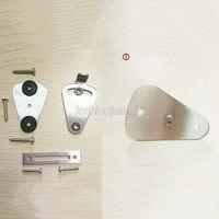 High Quality stainless steel lock for sliding barn door wood door latch hardware