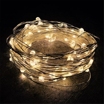 5M 50leds Outdoor Solar Powered Led String Light Fairy Holiday Party Wedding Christmas Garden Patio Waterproof Lights 5m 20 led moon solar string lights outdoor fairy light string for christmas home wedding party bedroom birthday decoration