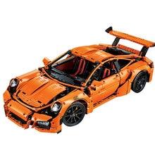 20001 Educational Toys Technic Series 911 GT3 RS Race Car Model Building Blocks Kits Funny Bricks
