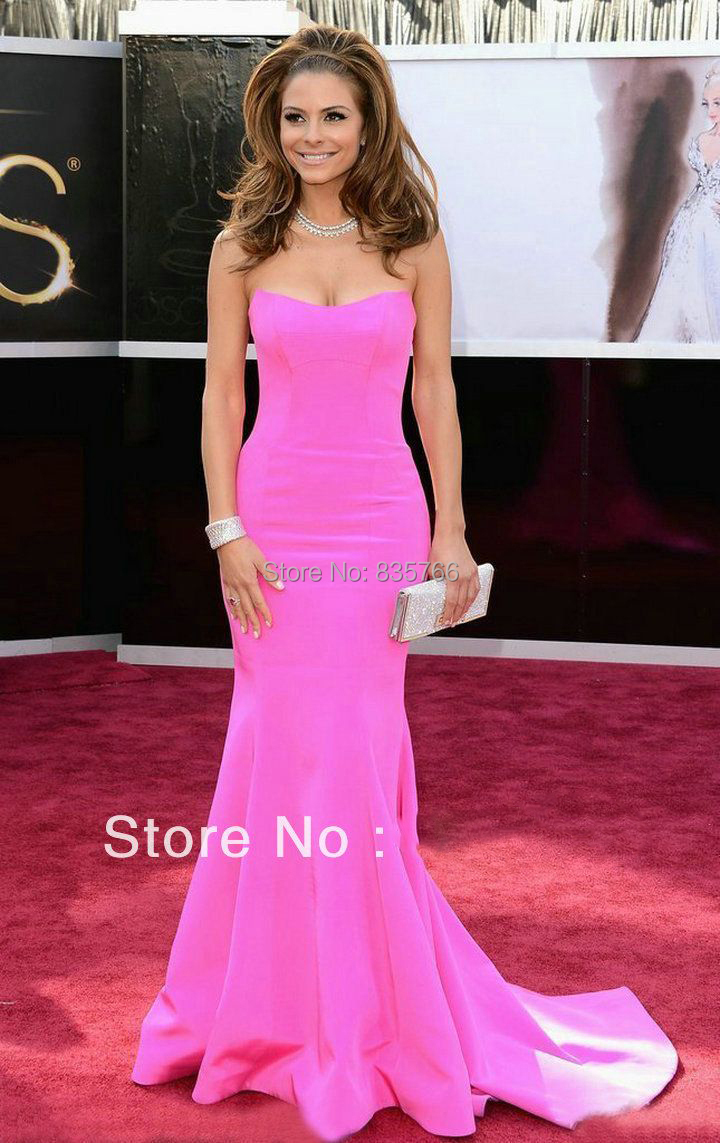Popular Hot Pink Red Carpet Dresses-Buy Cheap Hot Pink Red Carpet ...