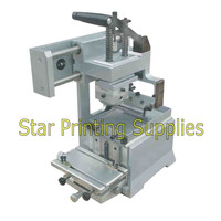 Pad printing machine start up kits: Pad printer + rubber pads + 2 custom plate dies
