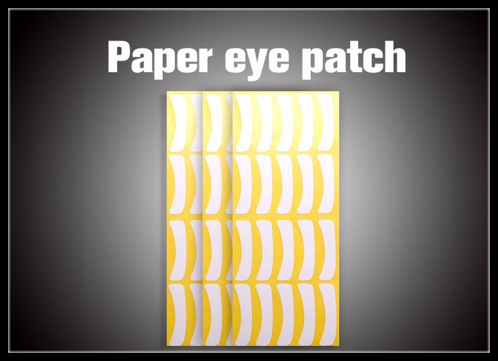 100pairs pack Ultra Think Paper Patches Under Eye Pads Eyelash Extension Paper Patches Eye Tips