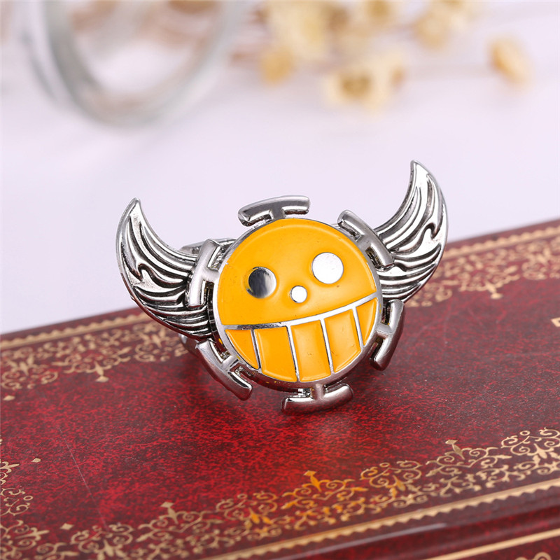 Anime Rings One Piece Yellow