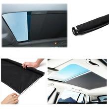 Cortina para teto solar automotivo, para-sol para audi q5, sharan, golf, novo estilo, tiguan»
