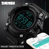 SKMEI Brand Sport Smart Watch Men Hours Pedometer Calories Digital Watch Waterproof Bluetooth Smart Electronic Watch Male Clock