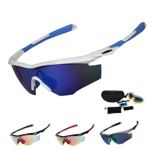 16f9f782d1fe COMAXSUN Polarized Cycling Glasses Bike Protection Riding Goggles Driving  Fishing Outdoor Sports Sunglasses UV 400 3 Lens 812