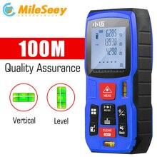 Mileseey Мини цифровой лазерный дальномер trena лазерный рулетка измерения Diastimeter тестер инструмент 100M-80M—60M-40M лазерный дальномер