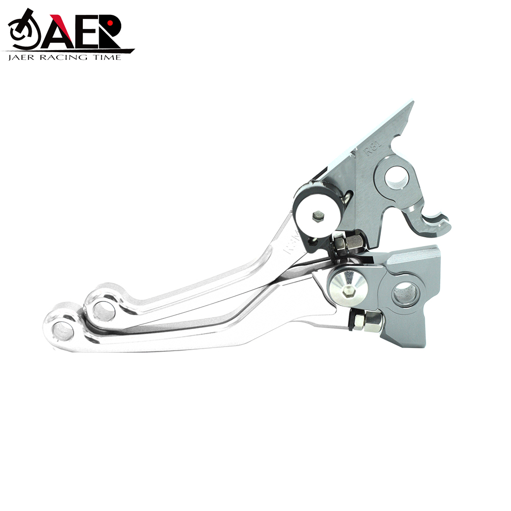Image 2 - JAER Motorcycle CNC Pivot Brake Clutch Levers For Yamaha XTZ125 2003 2012 2004 2005 2006 2007 2008 2009 2010 2011-in Levers, Ropes & Cables from Automobiles & Motorcycles