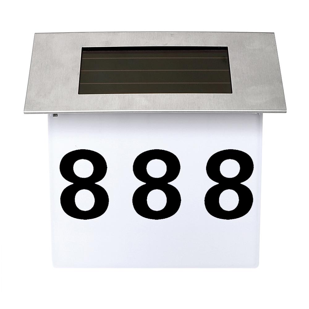 Itimo türschild billboard licht wohnung hausnummer beleuchtung sicherheit solar lampe außenbeleuchtung 4led beleuchtungchina