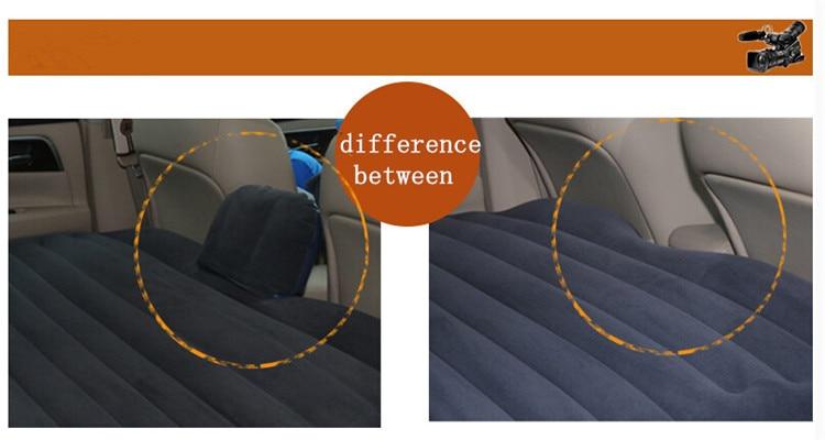 avtomobil potovanje napihljivi zračni blazini hrbtni sedež - Dodatki za notranjost avtomobila - Fotografija 4