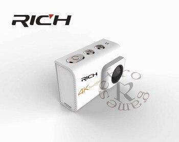 DHL 10pcs/lot  RICH Action Camera Ultra HD4k 8MP Wifi 170 degree Underwater Waterproof 30M Cam Remote Sports Camera