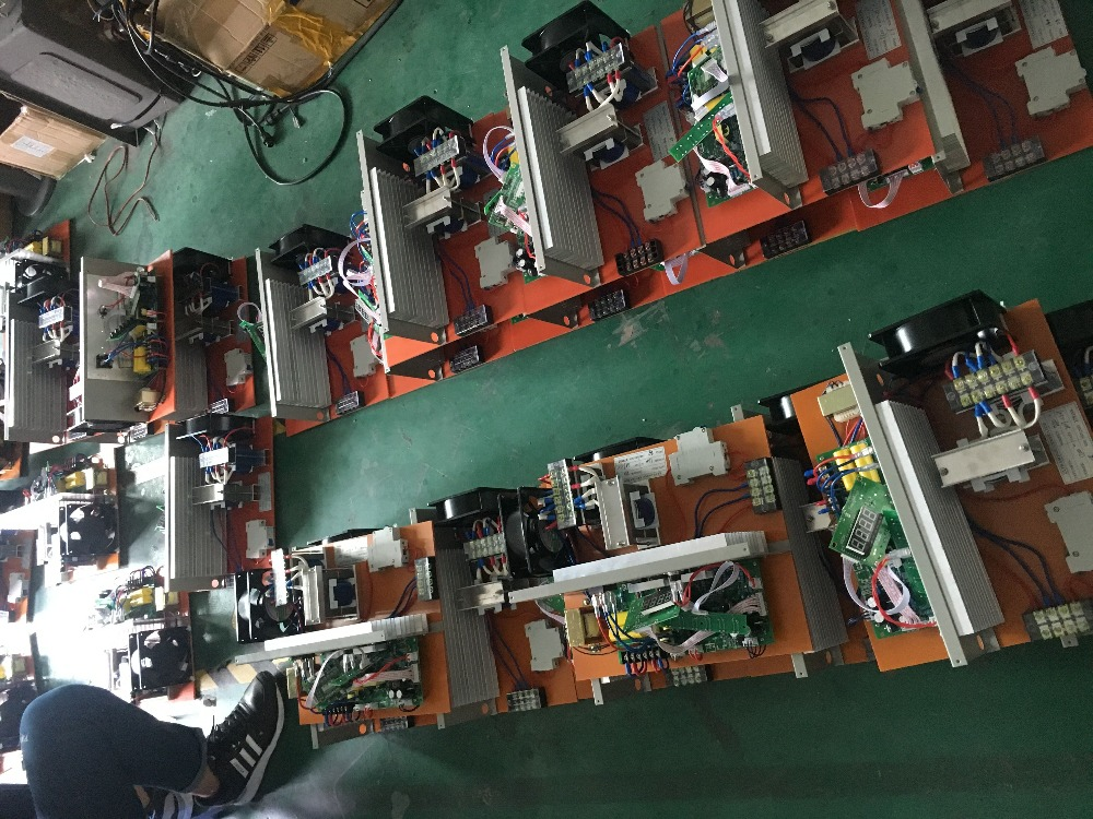 3000 W PCB generatore di pulizia e trasduttore per uso industriale ad ultrasuoni serbatoio di pulizia