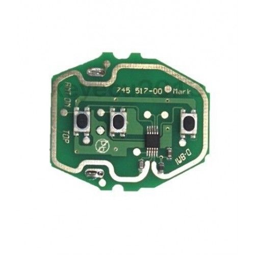 Keyecu New EWS Remote Control Circuit Board for BMW 3 Button 315/433MHz Without Key Shell