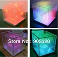 Hot Sale  SMD1616 3 in 1 16*16*16=4096 Voxel  SD Card Laying 3D LED Cube Light,LED Display for Disco Party,Exhibition,Bar etc