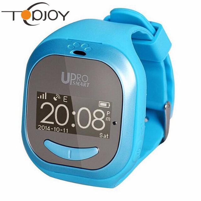 2016 newset upro p5 buletooth smart watch para as crianças do bebê monitor de gps de posicionamento gps de rastreamento remoto inteligente relógio para criança