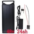 48 V 1000 W Hinten Rack batterie 48 V 24AH Lithium-batterie 48 v 24ah elektrische fahrrad batterie Mit 30A BMS und 54,6 V 2A ladegerät duty freies