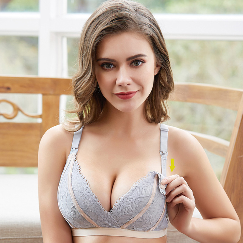 Breastfeeding Maternity Nursing Bras Cotton Maternity Clothes For Pregnant Women Pregnancy Underwear Breast Feeding Bra