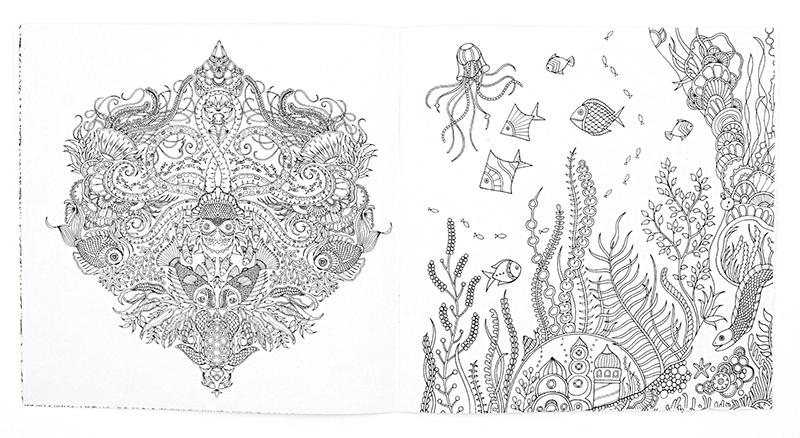 34 Lost Ocean An Inky Adventure And Coloring Book Free Printable Coloring Pages