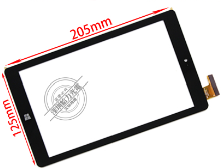 New original FPC-FC80J128-01 tablet capacitive touch screen free shipping