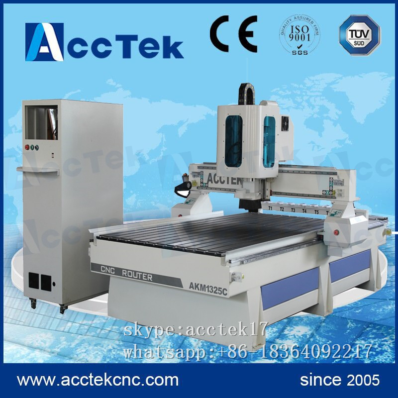 High precision atc wood cnc router china automatic tool change spindle cnc router