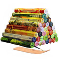 3/4/6/9/12Boxes tibetan Incense Stick With Plate Indian Incense Premium Multiple Flavor Mixed Package sandalwood incense T $
