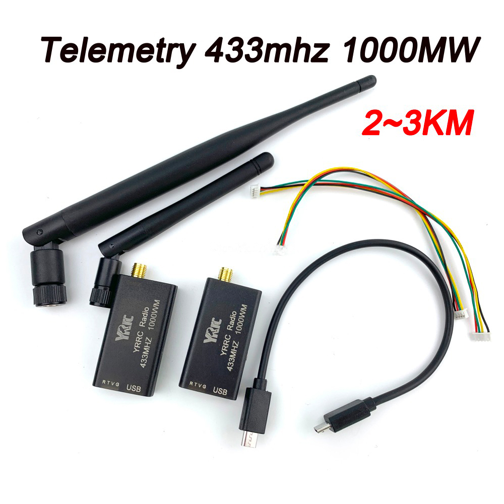 1000MW 433 3DR Radio Telemetry 433mhz Data Telemetry TTL USB Port 2 3KM Distance for APM
