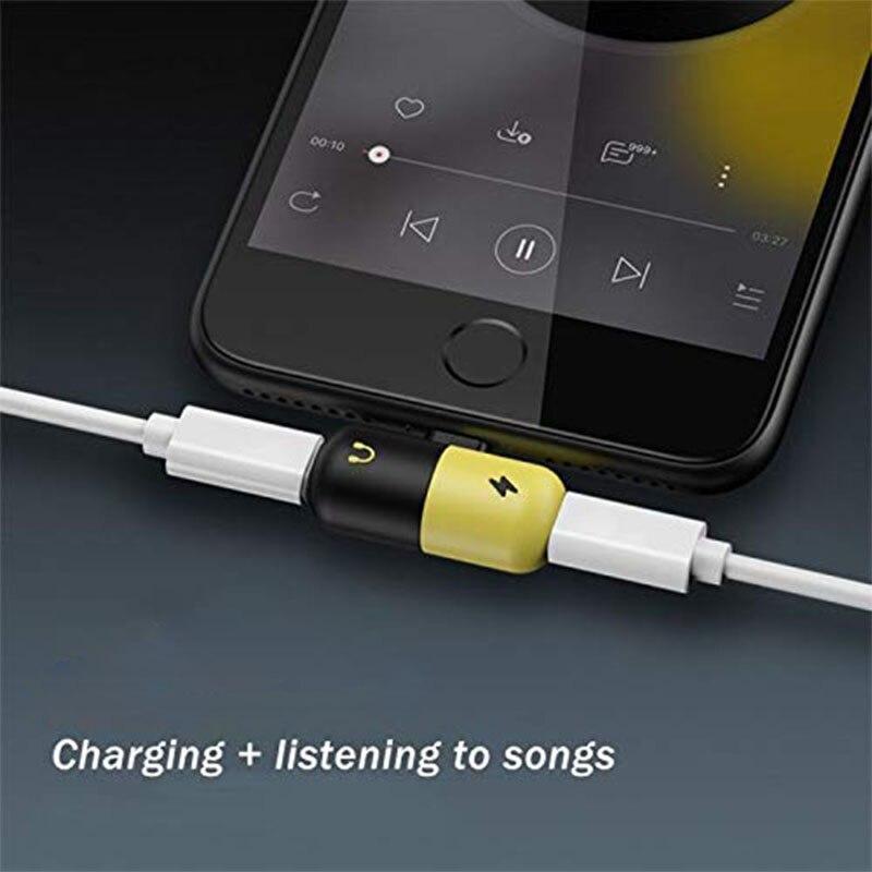 Hsmeilleur-8-Pin-Dual-Splitter-Adapter-Headphone-Jack-Adaptor-For-iPhone-XS-max-XR-X-8-8Plus-7-Plus-Mini-Audio-Charge-Adaptateur (4)