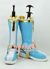 New Arrival LoveLive! SR Card Angel Nico Yazawa Cosplay Shoes Womens Girls Cosplay Boots PU Leather of High Quality все цены