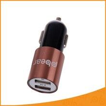 Dos usb cargador de coche micro usb auto universal dual usb del teléfono cargador del banco de potencia para ipad iphone ipad huawei 5 v 2.1a mini adaptador