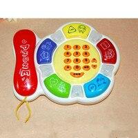 Elektronische Cartoon Muziek Telefoon Baby Speelgoed Leuke Kinderen Telefoon Speelgoed Vroege Onderwijs Cartoon Mobiele Telefoon Telefoon Mobiel Baby