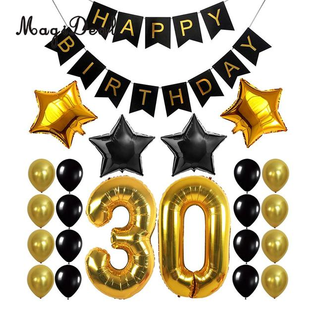 happy birthday banner 30th 40th 50th 60th birthday foil balloons rh aliexpress com 60th birthday clipart images 60th birthday clip art images